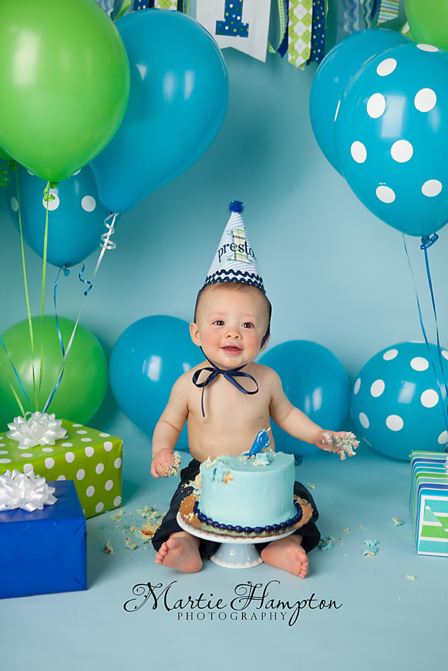 Preston is One!!! - Martie s Photography Blog